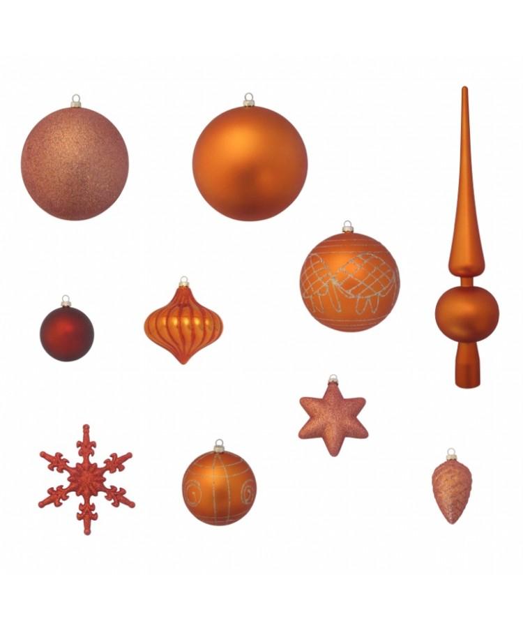 Luxury-Tree-Copper-150cm-Ornaments