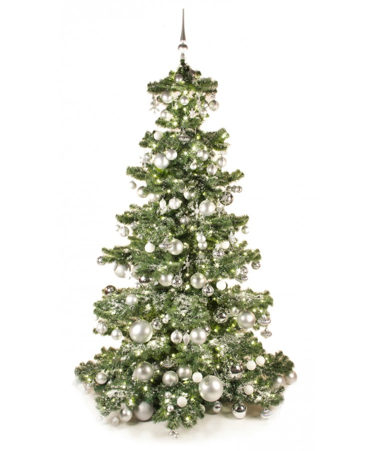 Basic Tree Bright and Silver 240cm-0