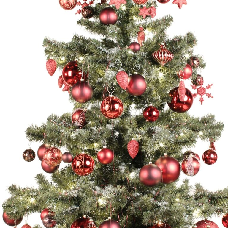 Basic Tree Warm Bordeaux 210cm-1708