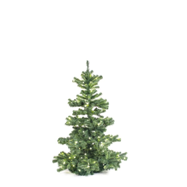 Basic Tree Warm Bordeaux 150cm-1740