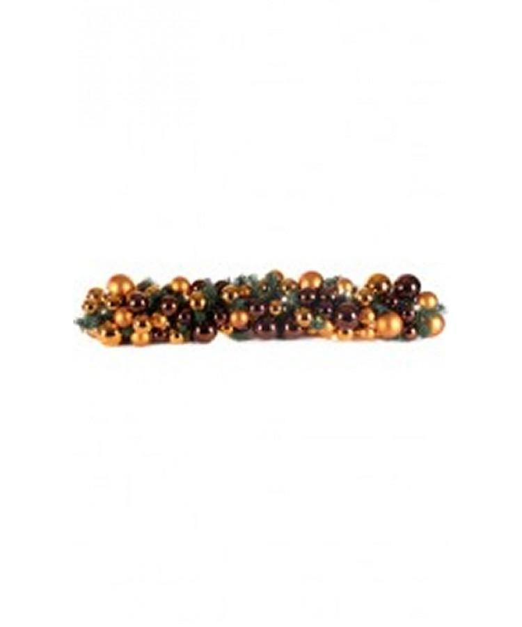 Exklusive Girlande 100cm Warm Kupfer-0