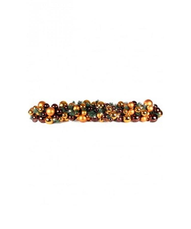 Exklusive Girlande 150cm Warm Kupfer-0
