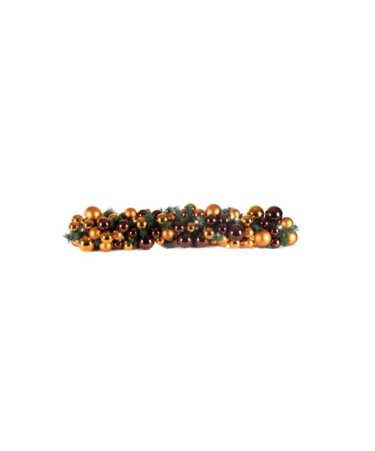 Exklusive Girlande 100cm Warm Kupfer-1509