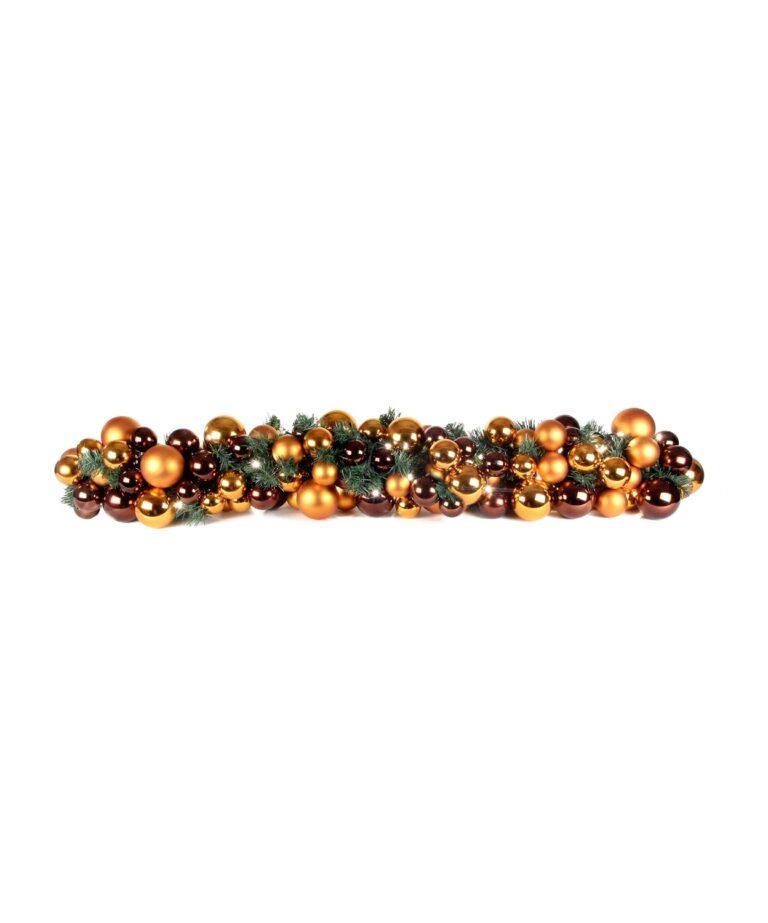 Exklusive Girlande 150cm Warm Kupfer-1510