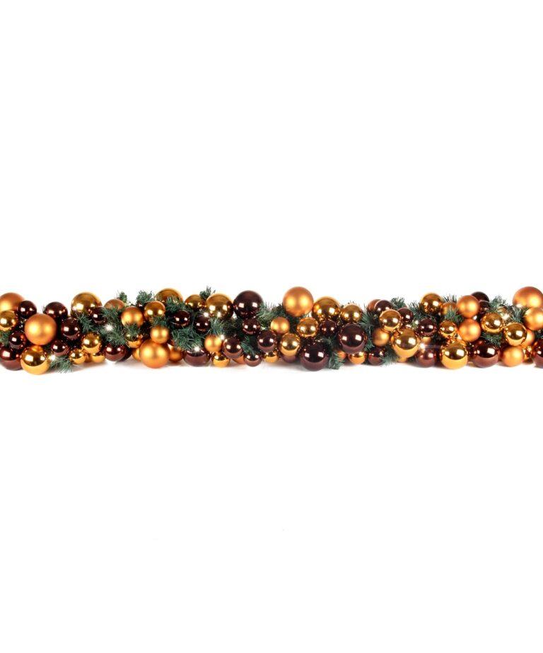 Exklusive Girlande 200cm Warm Kupfer-1511
