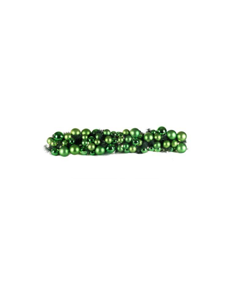 Exklusive Girlande 100cm Erfrischend grün-0