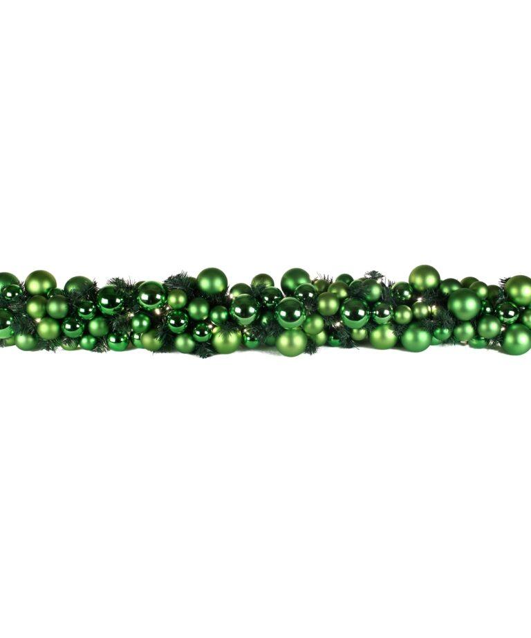Exklusive Girlande 200cm Erfrischend grün-1514