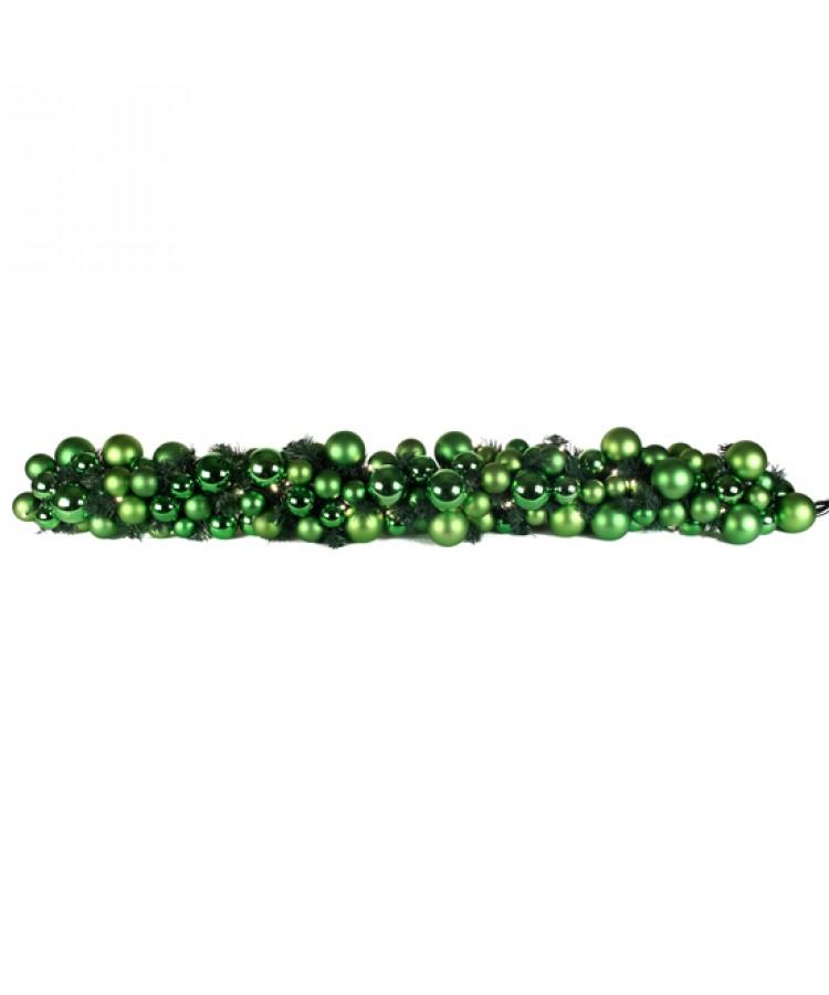 Exklusive Girlande 200cm Erfrischend grün-0