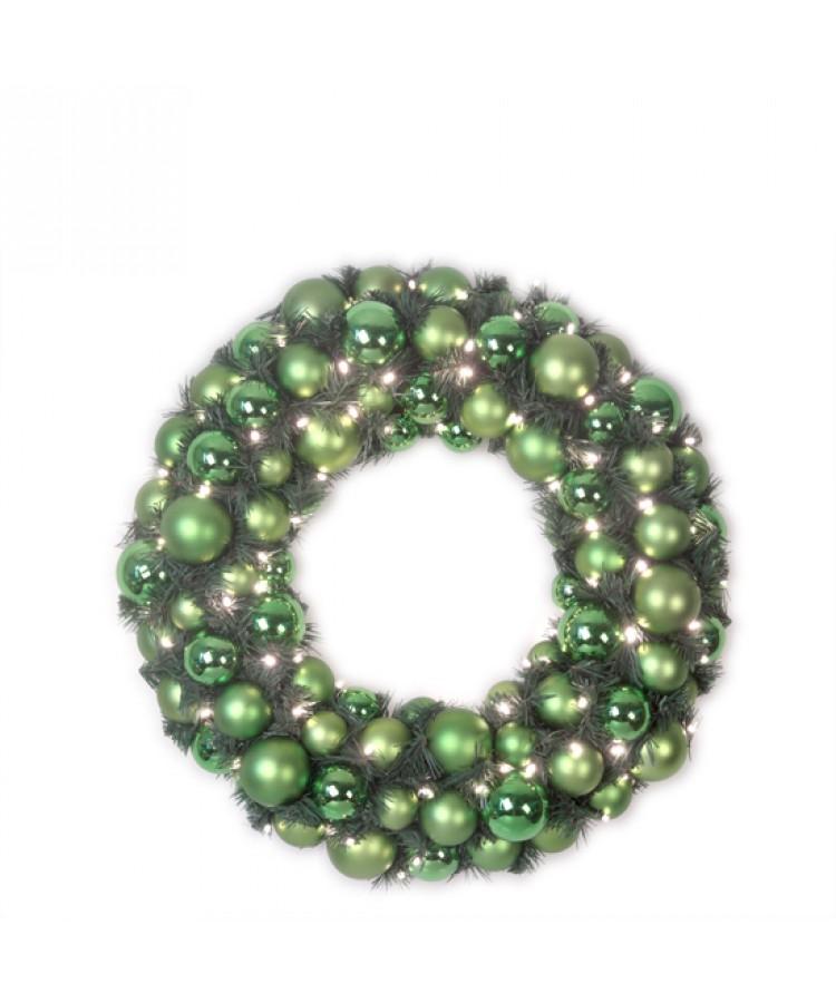 wreath-50cm-green