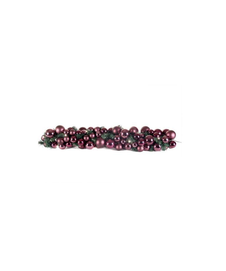 Exklusive Girlande 100cm Violette - Milka-0