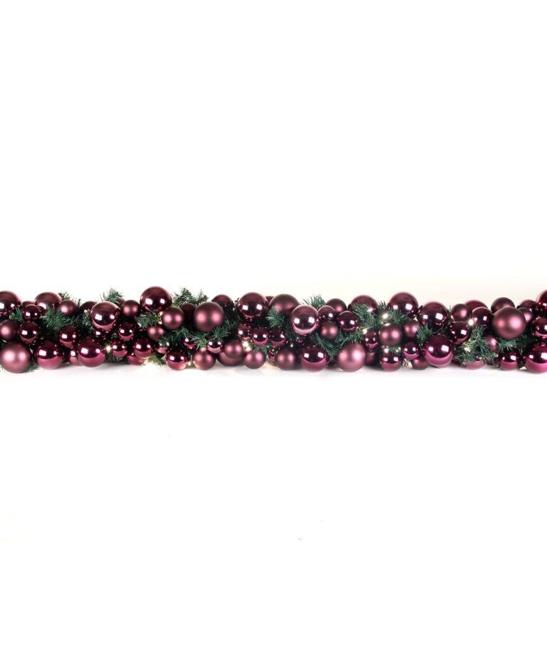 Exklusive Girlande 200cm Violette - Milka-1502