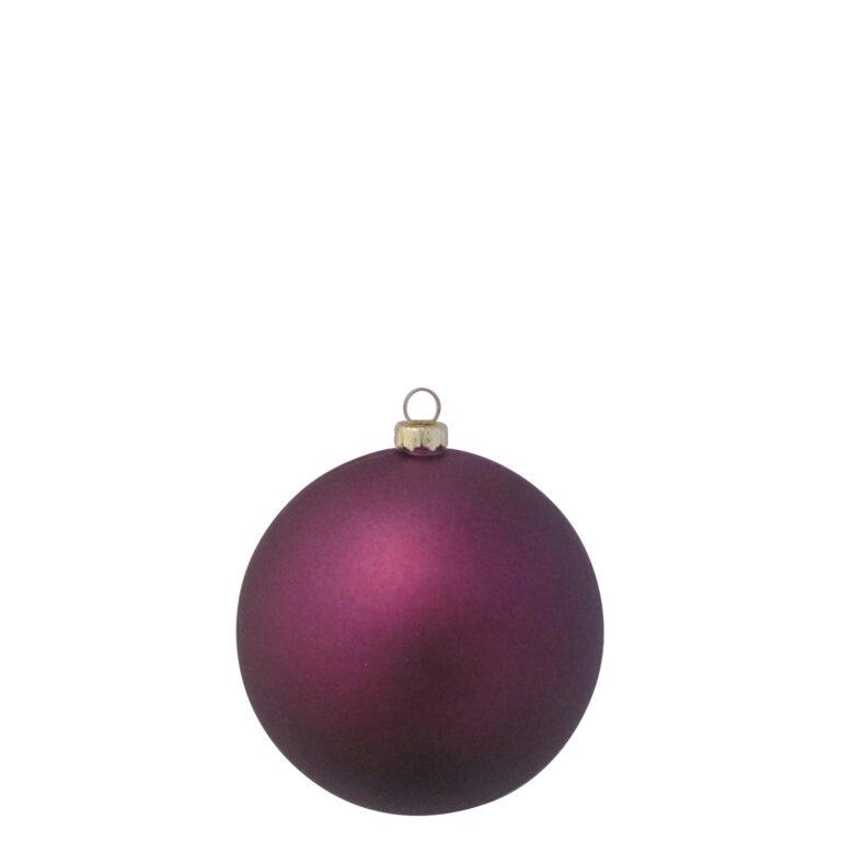 Auswahl von 8cm Weihnachtskugeln, Violette - Milka-1528